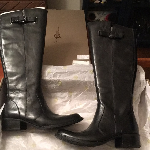1dcbf1d6bd1 Born size 8.5 NEW Boots Black NWT
